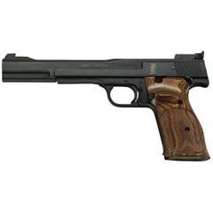 S&W M41 130512 22LR 7 AS BL  - New