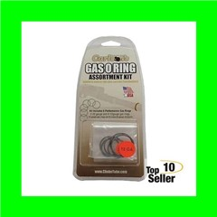 Carlsons 00066 Gas O-Ring 12/20 Gauge Rubber/Graphite Coated