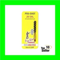 """Pro-Shot 22NP Nylon Bore Brush .22 Cal Pistol 8-32 1.75"""""""