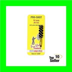 """Pro-Shot 10NP Nylon Bore Brush .40 Cal,10mm Pistol 8-32 1.75"""""""