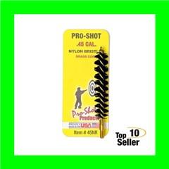 """Pro-Shot 45NR Nylon Bore Brush .45 Cal Rifle 8-32 2"""""""
