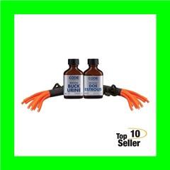 Code Blue OA1074 Double Drag Combo Buck Lure Doe, In Estrous Buck Urine...
