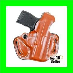 Desantis Gunhide 085TA7QZ0 Thumb Brake Mini Slide Tan Saddle Leather OWB