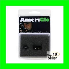 AmeriGlo GL121 Classic 3 Dot Night Sight Fits Glock 20/21 Tritium Green...