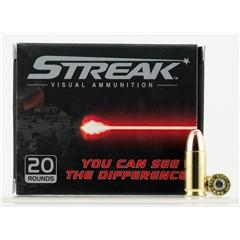 Ammo Inc Visual Ammunition Red Streak 9mm Luger