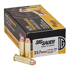 Sig Sauer CART BALL 357M 125GR