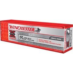 Winchester CART 22LR SUPX 37GR PLT HP