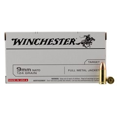 Winchester Best Value FMJ 9mm