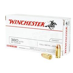 Winchester FMJ.380 Automatic Colt Pistol (ACP