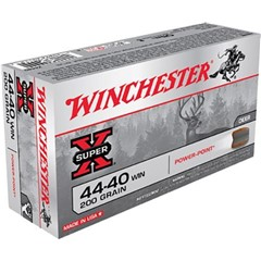 Winchester Super-X Soft Point.44-40 Winchester