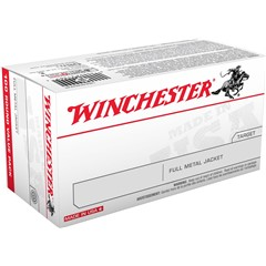 Winchester FMJ .380 Automatic Colt Pistol (ACP) Full Metal Jacket