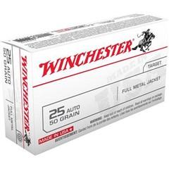 Winchester CART 25AP 50GR FMJ