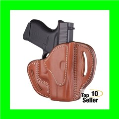 1791 Gunleather BHCCBRR BCH Glock 43/Walther PPK Classic Brown Leather