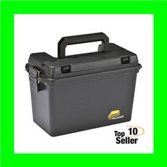 """Plano 161298 Field Box Black Plastic 15"""" x 8"""" x 10"""""""