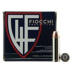 Fiocchi Pistol and Revolver Extrema XTP .38 Spl.