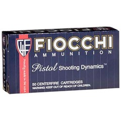 Fiocchi Pistol Shooting Dynamics .38 Spl. 50BX