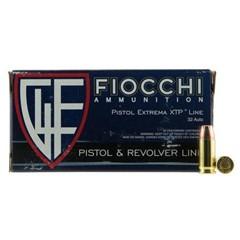 Fiocchi Pistol and Revolver Extrema XTP .32 ACP