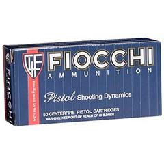 Fiocchi Pistol Specialty .38 Short Colt 50BX