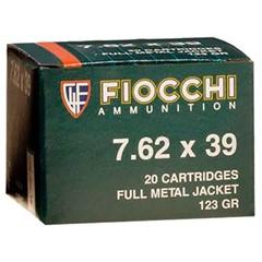 Fiocchi Rifle Shooting Dynamics 7.62x39 20BX