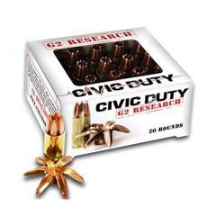 G2 Research 45 ACP Civic Duty .45 ACP 20BX