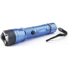 SG-M16000FBL Monster 16Mil Volt Metal Light Stun Gun Blue