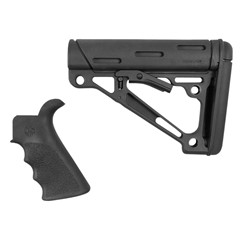 Hogue Beavertail Grip/Collapsible Buttstock OverMolded