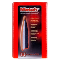 Hornady Match 30 Cal 308 155GR BTHP