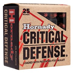Hornady FTX Critical Defense .30 Carbine 25BX