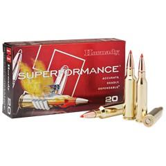 Hornady GMX Superformance .300 WSM 20BX