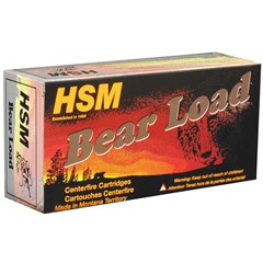 HSM WFN Bear Load 500 Smith & Wesson Magnum 20BX