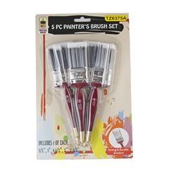 TZ6375 Hawk 5pc Paint Brush Set