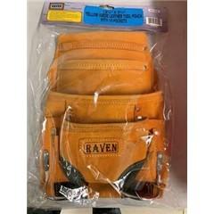 AS1101 Split Leather 9 pocket Tool Bag