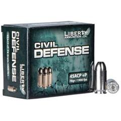 Liberty 45 ACP Civil Defense .45 ACP 20BX
