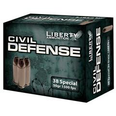 Liberty 38 Special Civil Defense .38 Spl. 20BX