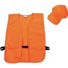 17555 Allen Hat & Vest Combo Blaze Orange