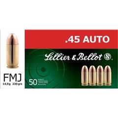 MagTech Full Metal Jacket Handgun .45 ACP 50BX