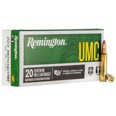 Remington UMC CART 223 55GR MC 20RD