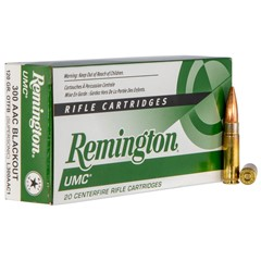 Remington UMC 300BLK 120GR OTFB