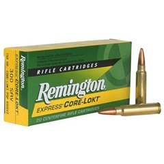 Remington Pointed Soft Point Core-Lokt .300 Savage