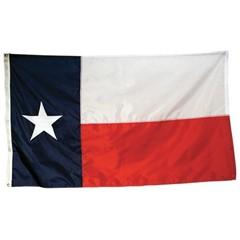 FLAG-830721 Texas Polyester Flag 3 x 5