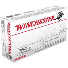 Winchester FMJ USA .357 SIG 50BX