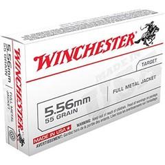 Winchester Winchester 5.56 NATO FMJ 55 Grain