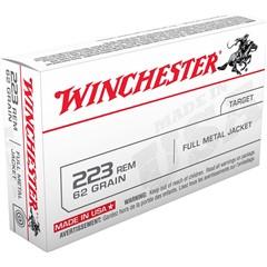 Winchester Best Value Full Metal Jacket .223 Remington/5.56 NATO 62 GR