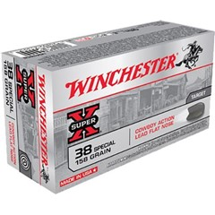 Winchester Super-X Cowboy Action .38 Special 158 GR