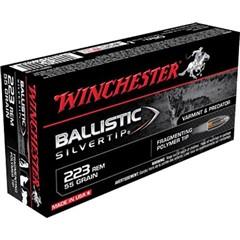 Winchester Supreme Ballistic Silvertip .223 Remington/5.56 NATO 55 GR