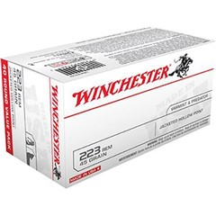 Winchester acketed Hollow Point 45 GR .223 Remington/5.56 NATO