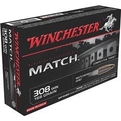 Winchester Winchester Supreme 308 Winchester (7.62 NATO) 168GR