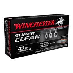 Winchester FMJ Super Clean .45 ACP 50BX