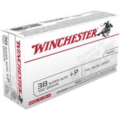 Winchester Best Value FMJ 130 GR 38 Special