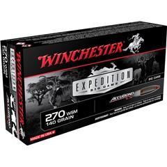 Winchester Supreme 270 Winchester Short Magnum 140 GR